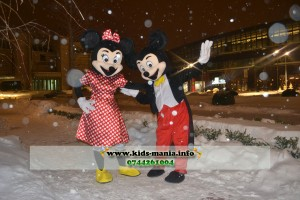 Minnie si Mickey Mouse Romania