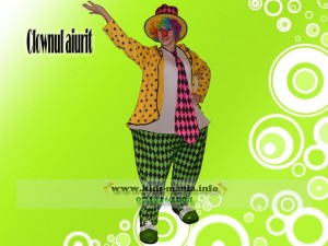 clown vesel kids mania iasi