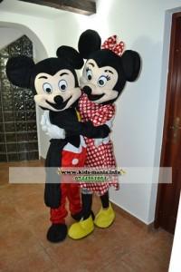 Animatori si hostess la petreceri pentru copii Minnie si Mickey Mouse in Constanta