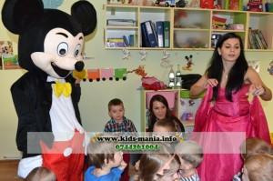 Animatori Mickey Mouse si Printese, clowni si mascote disney in orasul Piatra Neamt