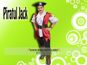 Piratul Jack animatori la petreceri pentru copii Husi