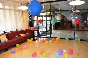 Baloane heliu decorative colorate iasi petreceri copii