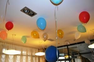 Baloane cu heliu decorative colorate iasi