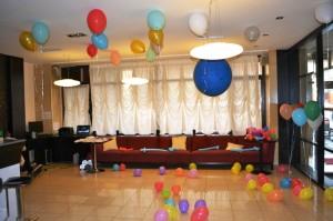 Baloane cu heliu petreceri copii iasi