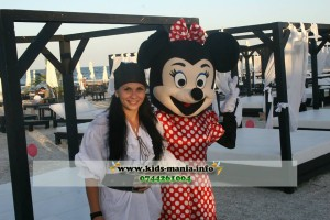 Mascota Minnie Mouse, Mickey Mouse, Tom si Jerry, Piratul Jack, Donald si Deisy, mascote animatori petreceri copii