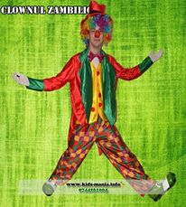 Costum de clown la petrecerile pentru copii in Iasi