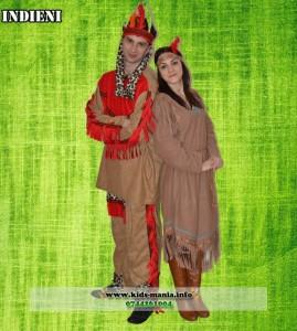 Costume animatori indieni: Indian si Indianca Iasi