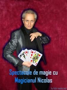 Spectacol de magie cu magicianul nicolas in iasi