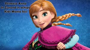Printesa Anna din Frozen - petreceri pentru copii si animatori in Iasi 2