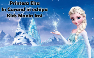Printesa Elsa din Frozen -  petreceri pentru copii Iasi