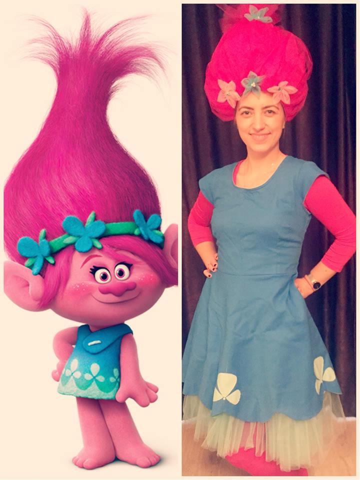 poppy - fetita trol iasi, animator trol iasi, animatoare poppy iasi