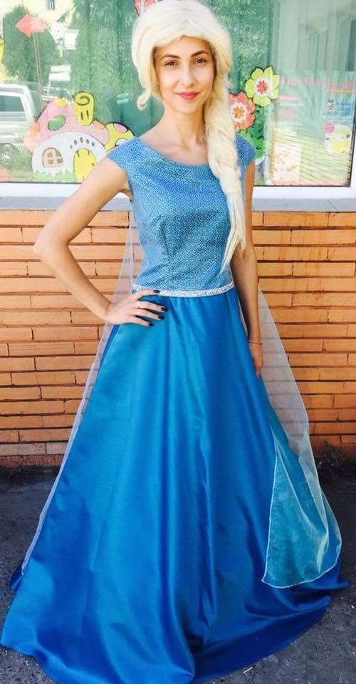 Elsa din regatul de gheata - animator in Iasi